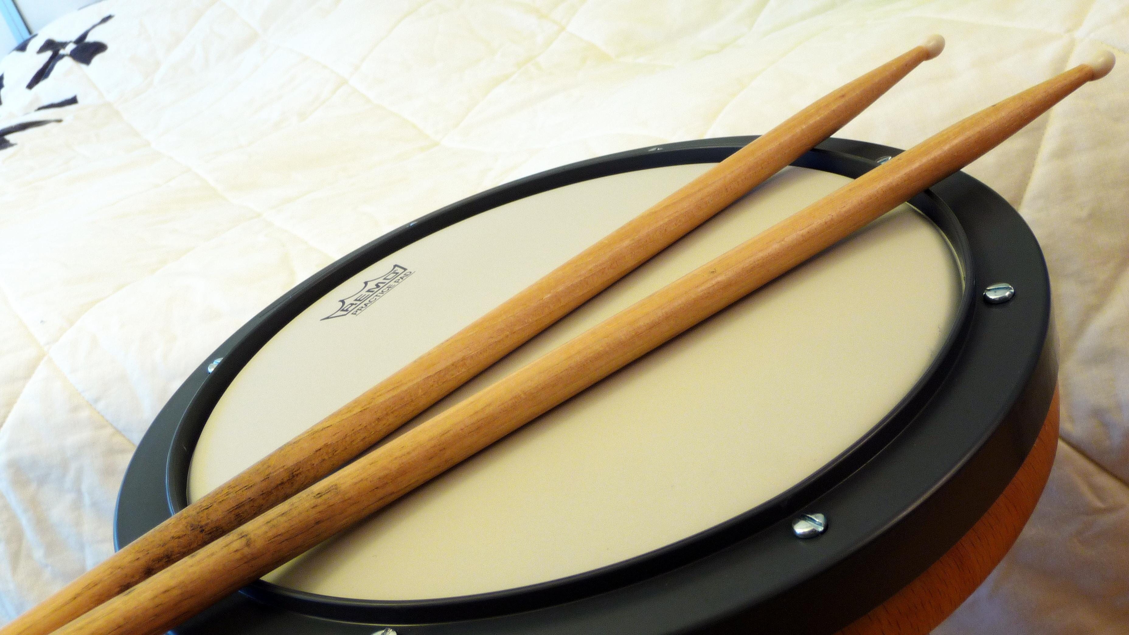 drumming practice pads